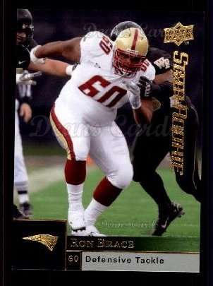2009 Upper Deck #220  Ron Brace