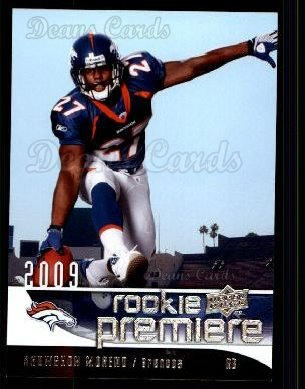 2009 Upper Deck Rookie Premiere #16  Knowshon Moreno