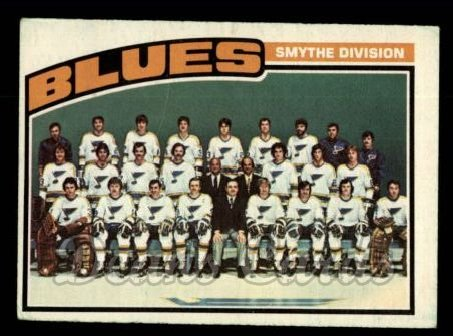 1976 O-Pee-Chee NHL #146   Blues Team