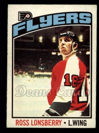 1976 O-Pee-Chee NHL #201  Ross Lonsberry