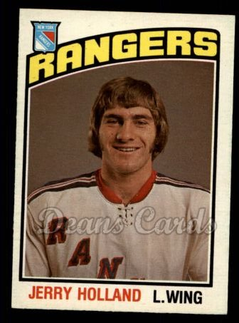 1976 O-Pee-Chee NHL #315  Jerry Holland