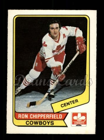 1976 O-Pee-Chee WHA #32  Ron Chipperfield