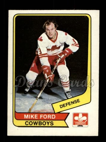 1976 O-Pee-Chee WHA #75  Mike Ford