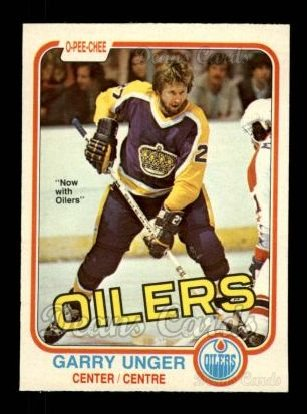 1981 O-Pee-Chee #123  Garry Unger