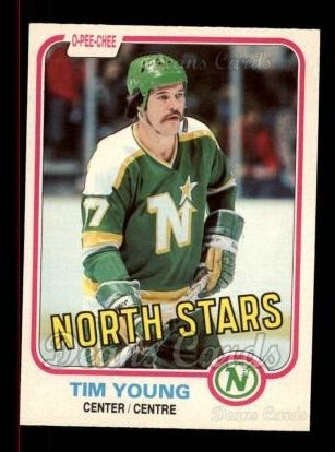 1981 O-Pee-Chee #169  Tim Young