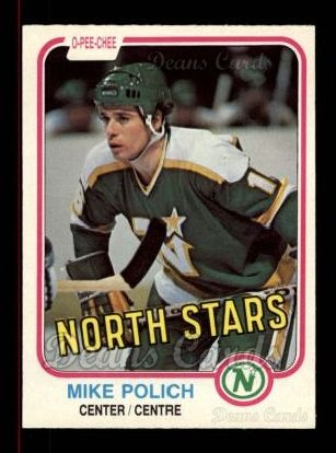 1981 O-Pee-Chee #172  Mike Polich