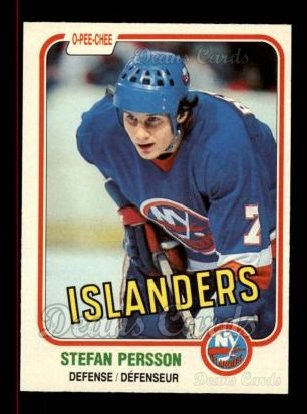 1981 O-Pee-Chee #206  Stefan Persson