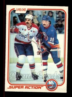 1981 O-Pee-Chee #210   -  Bryan Trottier Super Action