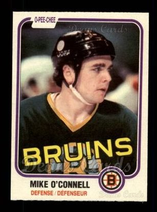 1981 O-Pee-Chee #6  Mike O'Connell