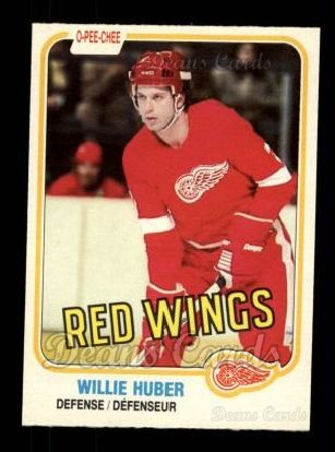 1981 O-Pee-Chee #89  Willie Huber