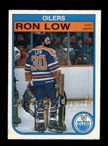 1982 O-Pee-Chee #112  Ron Low