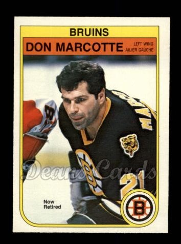 1982 O-Pee-Chee #14  Don Marcotte