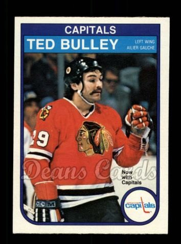 1982 O-Pee-Chee #360  Ted Bulley