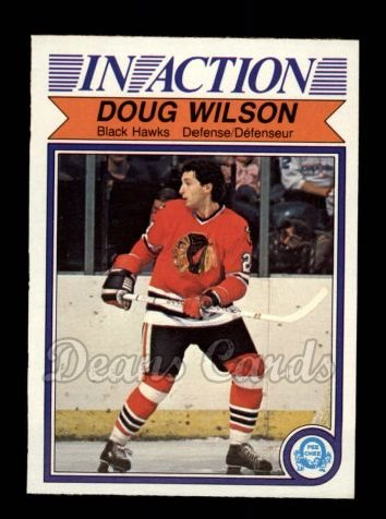 1982 O-Pee-Chee #78   -  Doug Wilson In-Action