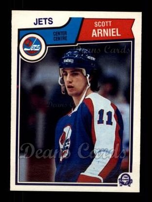 1983 O-Pee-Chees #379  Scott Arniel
