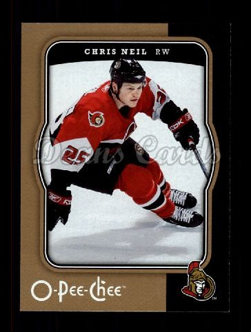 2007 O-Pee-Chee #347  Chris Neil