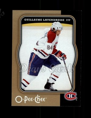 2007 O-Pee-Chee #256  Guillaume Latendresse