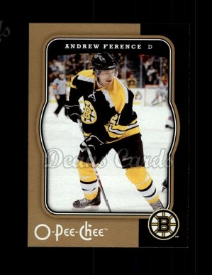 2007 O-Pee-Chee #45  Andrew Ference
