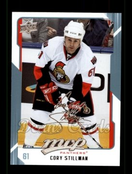 2008 Upper Deck MVP #133  Cory Stillman
