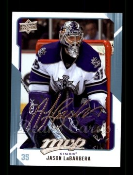 2008 Upper Deck MVP #139  Jason LaBarbera