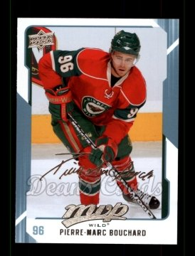 2008 Upper Deck MVP #143  Pierre-Marc Bouchard
