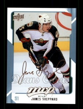 2008 Upper Deck MVP #145  James Sheppard
