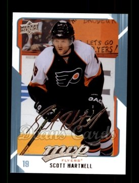 2008 Upper Deck MVP #219  Scott Hartnell