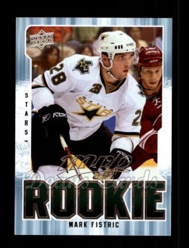 2008 Upper Deck MVP #321  Mark Fistric