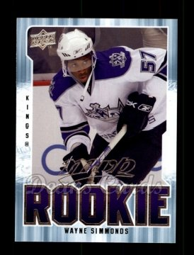 2008 Upper Deck MVP #368  Wayne Simmonds