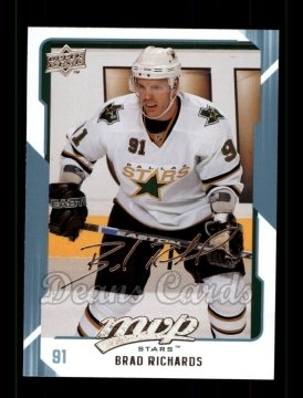 2008 Upper Deck MVP #92  Brad Richards
