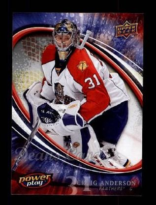 2008 Upper Deck Power Play #126  Craig Anderson