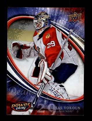 2008 Upper Deck Power Play #129  Tomas Vokoun