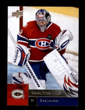 2009 Upper Deck #18  Carey Price