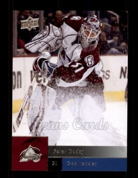 2009 Upper Deck #181  Peter Budaj