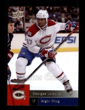 2009 Upper Deck #21  Georges Laraque