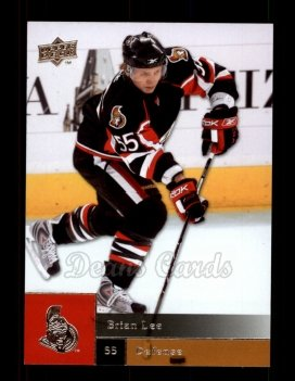 2009 Upper Deck #28  Brian Lee