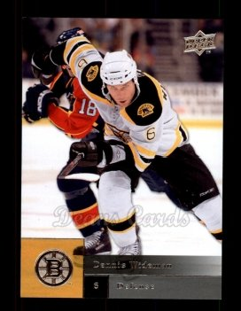 2009 Upper Deck #7  Dennis Wideman