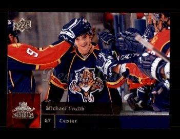 2009 Upper Deck #74  Michael Frolik