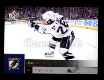 2009 Upper Deck #87  Martin St. Louis