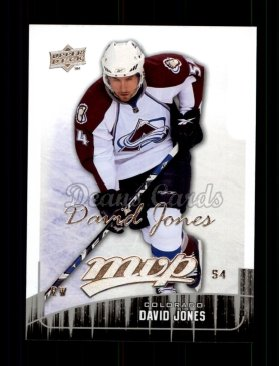 2009 Upper Deck MVP #219  David Jones
