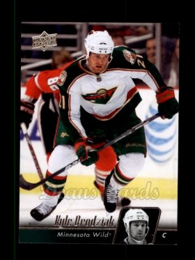 2010 Upper Deck #101  Kyle Brodziak