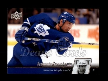 2010 Upper Deck #18  Francois Beauchemin