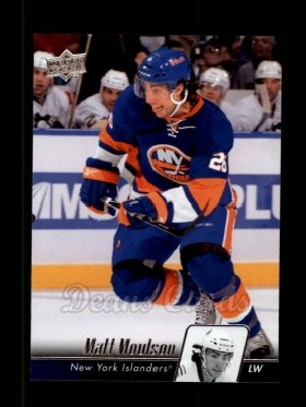2010 Upper Deck #79  Matt Moulson
