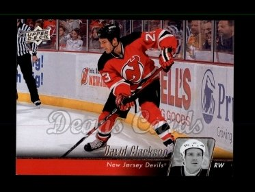 2010 Upper Deck #87  David Clarkson