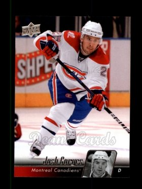 2010 Upper Deck #98  Josh Gorges