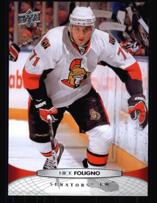 2011 Upper Deck #69  Nick Foligno
