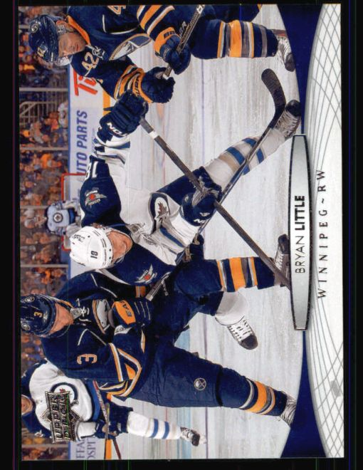 2011 Upper Deck #256  Bryan Little
