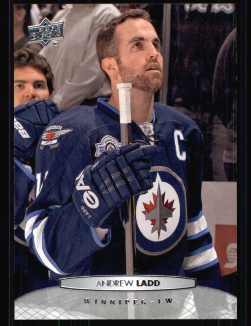 2011 Upper Deck #257  Andrew Ladd