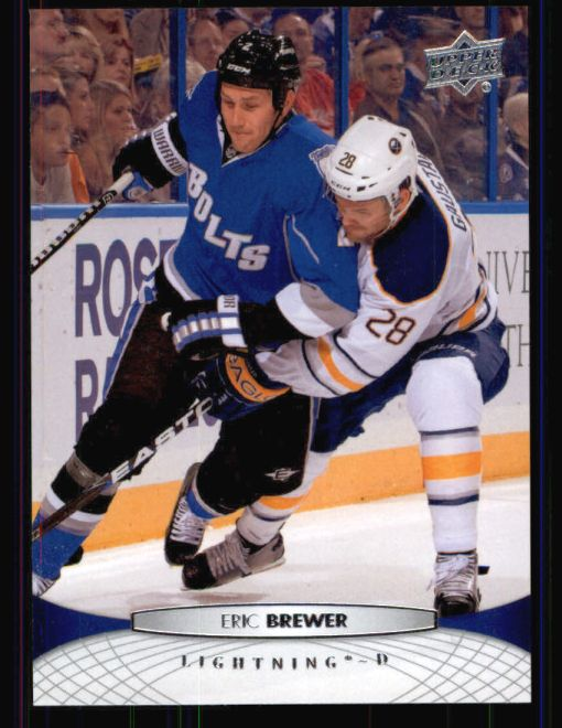 2011 Upper Deck #286  Eric Brewer