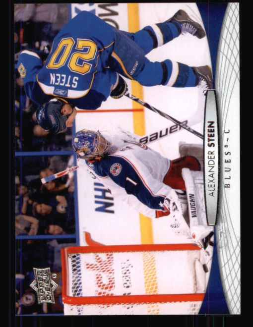 2011 Upper Deck #37  Alexander Steen